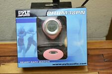 Pyle Sports PHRM38PN Heart Rate Monitor Watch,Calories, Target Zones, Pink