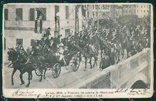 Treviso Città Ponte San Martino 1903 Savoia cartolina QT3962