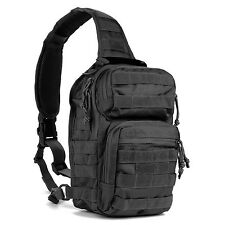 Tactical Military Sling Chest Pack Bag Molle Daypack Laptop Backpack Casual S...
