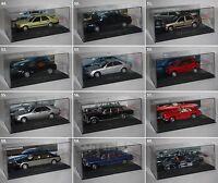 De Agostini-Mercedes Sammlung-1:43-Oldtimer-Sammlung-Modell-PC-Vitrine-neu