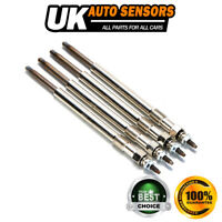 4X DIESEL HEATER GLOW PLUGS FOR CITROEN FIAT FORD JAGUAR PEUGEOT 2.2 HDI 2.0 D