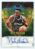 2018-19 NICK ANDERSON 50/99 AUTO PANINI COURT KINGS AUTOGRAPHS