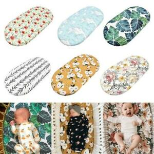 Crib Changing Table Pad Cover Baby Moses Basket Sheet Cradle Bedding Protector