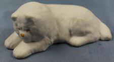 chow Hund Figur Porzellanfigur bisquit 1970 porzellan hollohaza ungarn dog 2