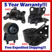 K086 Fit 98-00 MAZDA 626 2.0L ENGINE MOTOR & TRANS MOUNT for AUTO TRANS. 4pc Set