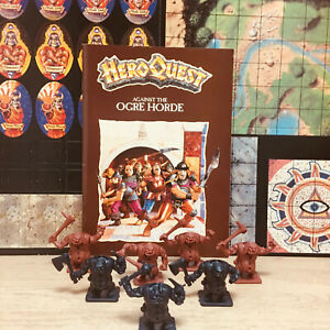 Heroquest Against The Ogre Horde Expansion NO BOX! Tiles Unpunched!