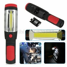 COB LED Clip Pocket Pen Hand Torch Work Light Inspection Lamp Flashlight Bright