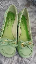 Ladies BRONX Slip On Flat Boat Shoes Moccasins Deck Light Loafers Size 38 - UK5