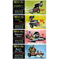 Weird-Ohs Car-Icky-Tures Model Toy Sets - You Choose Design
