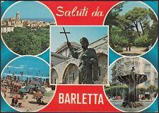 AD5525 Saluti da Barletta - Vedute - Cartolina postale - Postcard