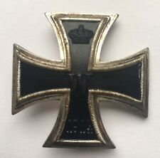 MEDAL GERMAN WW1 IRON CROSS 1 ST CLASS VAULTED VERSION - MAGNETIC