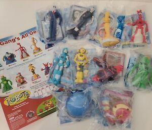 Burger King Robots the Movie Lot Of 10 Figure Set New Sealed Set action figures
