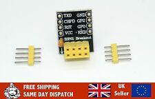 ESP-01 (ESP8266)  Breadboard/ Breakout PCB Adaptor *UK SELLER*