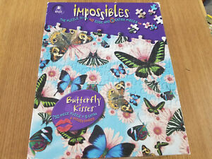 Bepuzzled Impossibles Butterfly Kisses Jigsaw Puzzle 750 + 5 extra pcs - 12 x 12