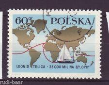 Polen Nr. 1924 gest.  Weltumsegelung   -2