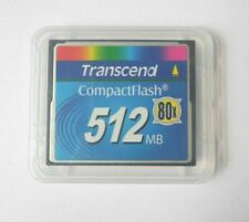 Transcend 512MB Compact Flash CF Industrial 512 Mo Memory Card 100% Genuine 80X