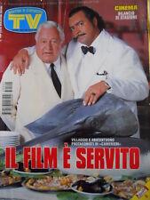 TV Sorrisi e Canzoni n°4 1995 Paolo Villaggio Trailer Pulp Fiction [D38]