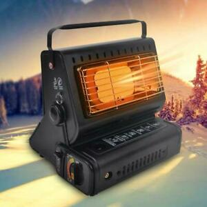 Gas Stove Camping Grill & Portable Tent Heater Radiant Ceramic Without Flame