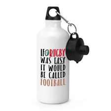 If Rugby Was Easy It Would Be Called Football Sports Drinks Bottle Camping Flask