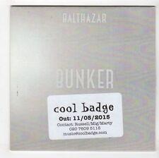 (GL253) Balthazar, Bunker - 2015 DJ CD