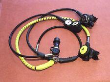 Scubapro Mk25 S600 S390 Regulator Set complete with pressure gauge + Compass.