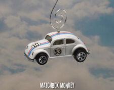 Herbie the Love Bug VW Volkswagen Beetle Fully Loaded 1/64 Adorno Goes Bananas