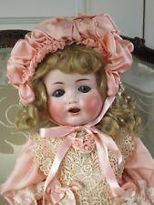 "Max Handwerck Bébé Elite Antique Bisque Head German Doll 18"""