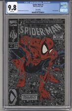 SPIDER-MAN #1 CGC 9.8 WPGS SILVER EDITION, LIZZARD APPR, MCFARLANE STORY 1990