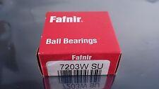 TORRINGTON FAFNIR 7203W SU ANGULAR CONTACT BEARING 17 x 40 x 12 mm 20 DEGREE