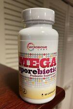 Microbiome Labs MEGA Sporebiotic 60 capsules Exp 12/2025