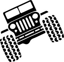 4 X 4 JEEP Vinyl Decal 150mm / 6""