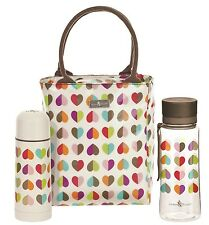 Beau & Elliot Confetti Ladies Lunch Tote, Hydration Bottle and Vacuum Flask
