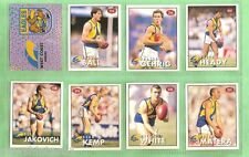 1996 AFL SELECT  STICKERS & STAND UPS - WEST COAST EAGLES