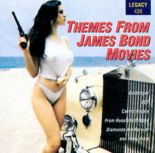 THEMES FROM JAMES BOND MOVIES (007) CD [B14]