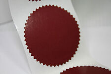 45 mm Serrated Certificate Seals Labels Awards Legal Embossing Stickers x 20pcs