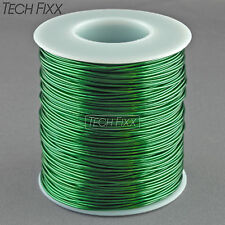 Magnet Wire 21 Gauge AWG Enameled Copper 395 Feet Coil Winding 155C Green