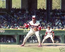LAMARR HOYT in action 1983 Chicago White Sox Photo (c)