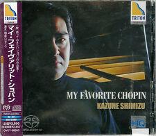 KAZUNE SHIMIZU (PIANO)-MY FAVORITE CHOPIN-JAPAN SACD G50