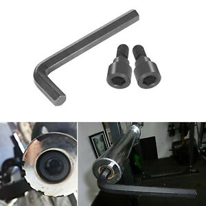 Replacement Hex Bolts & 12MM Hex Allen Wrench for Olympic Bars/Curl Bars/Tricep