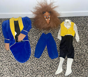 """Mattel Disney """"Beauty and the Beast"""" The Beast Costume for Barbie Ken Doll"""