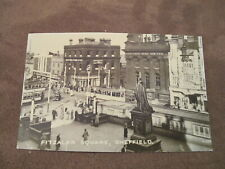 Reproduction photograph  - Fitzalan Square - Sheffield