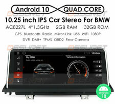 """10.25"""" Android GPS For BMW X5 X6 E70 E71 2010-2013 CIC Anti-Reflection Screen"""