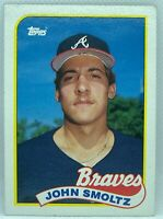 1989 Topps John Smoltz #382 Rookie Card RC Atlanta Braves NM-MINT HOF