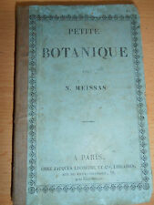 PETITE BOTANIQUE PAR N . MEISSAS année 1846 CHAMPIGNON TRUFFE FLEUR ( ref 43 )