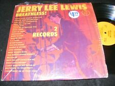 JERRY LEE LEWIS Breathless 2 LP Set PIK Special Records in Cello/ Shrinkwrap 70s