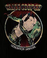 ALICE COOPER cd lgo GENERATION LANDSLIDE Official SHIRT XL billion dollar babies