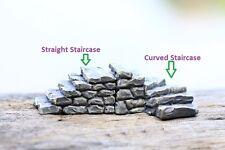 2 pcs Miniature Fairy Garden Stone Staircase Terrarium Supplies and Accessories