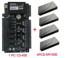 Zkteco C3-400 Door Access Controler + 4 Proximity Readers Access Control System