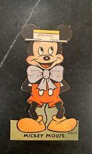 Walt Disney Mickey Mouse ~ Three Piece Puzzle ~ 1930s