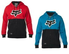 Fox Racing Mens Rebound Sherpa Hoody Hoodie Black Red Blue MX ATV Off Road 23897